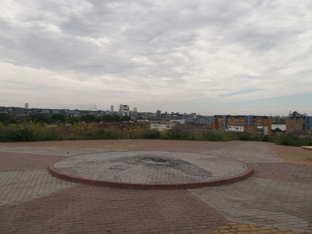 On top of Gallions Hill