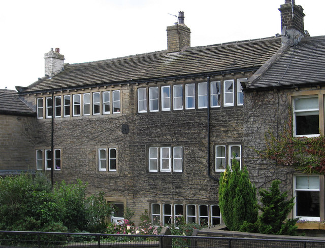 Golcar - weavers cottages on Town End