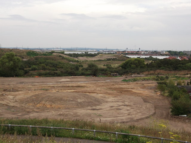 View towards Erith