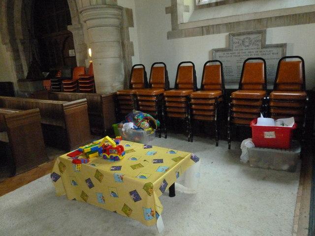 St. Mary, Bentley: children's area