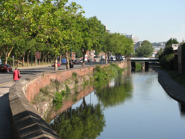 London Road and the Nottingham Canal