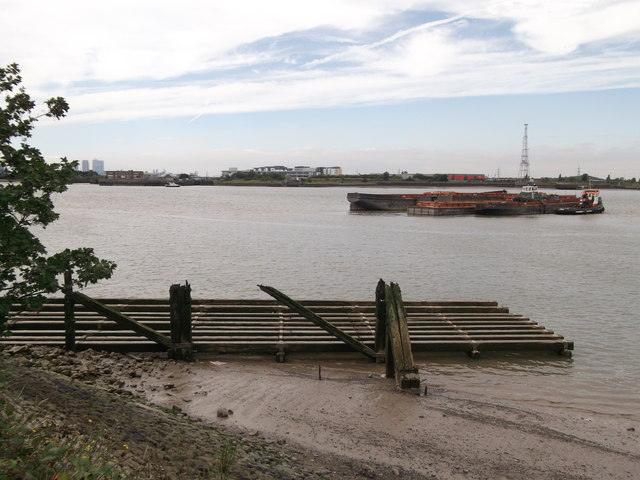 Old Jetty on River Thames