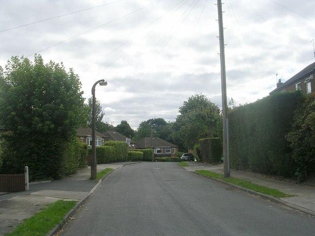 Pellon Terrace - viewed from Harper Avenue