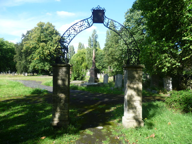 Archway in Brockley Cemetery