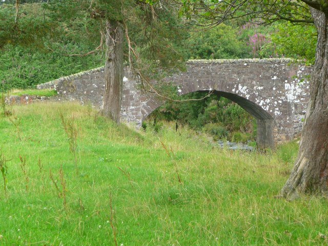 Arched Bridge over West Water