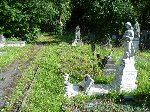 In Brockley Cemetery