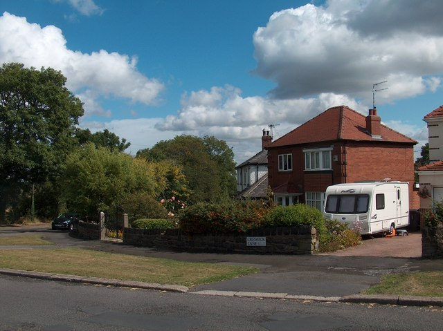 Junction of Creswick Lane and Wheel Lane, Grenoside