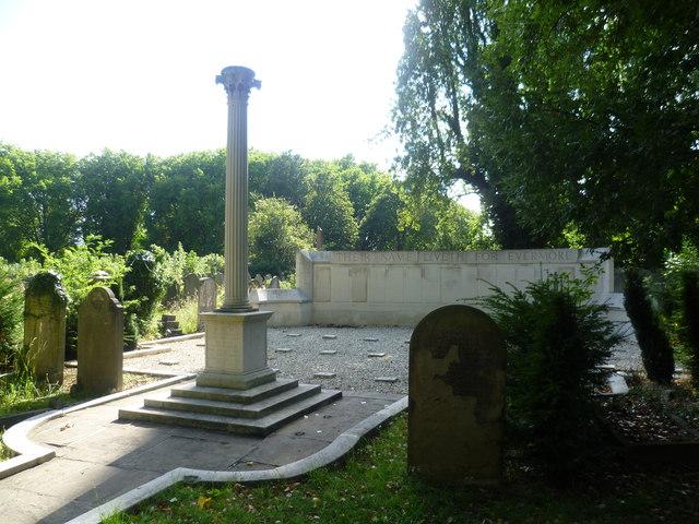 Deptford War Memorial in Brockley Cemetery
