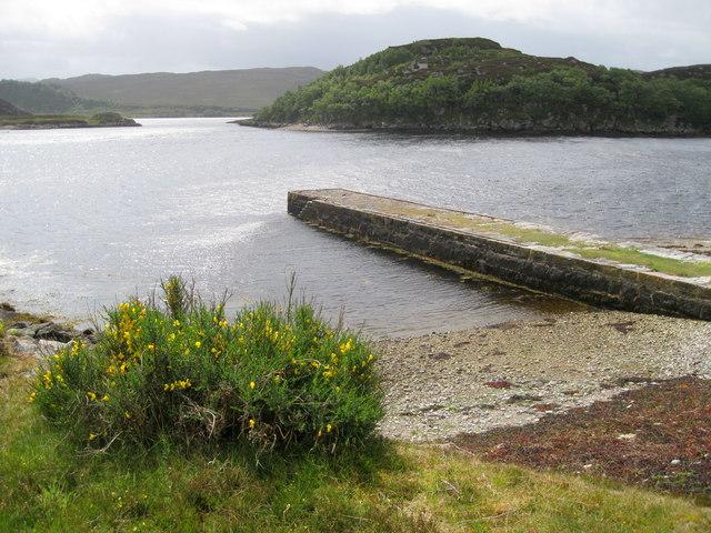 Jetty in Loch Laxford