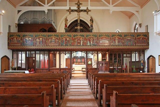 St Mark, Lakenham - East end
