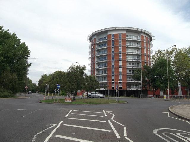 Roundabout on Bentham Road