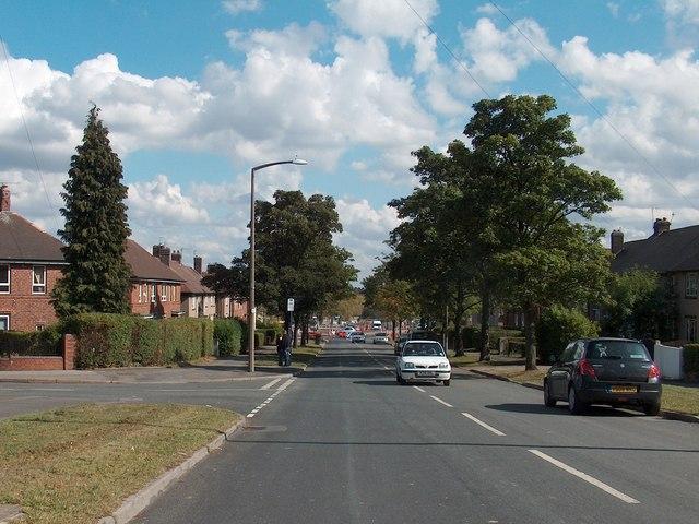 Deerlands Avenue at Deerlands Mount junction