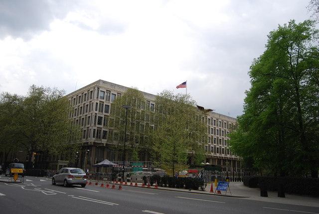 U.S. Embassy, Grosvenor Square