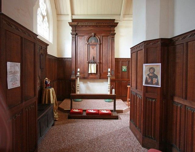 St Mark, Lakenham - North chapel