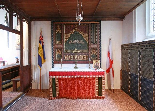 St Mark, Lakenham - South chapel