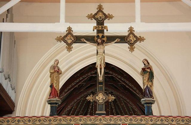St Mark, Lakenham - Rood