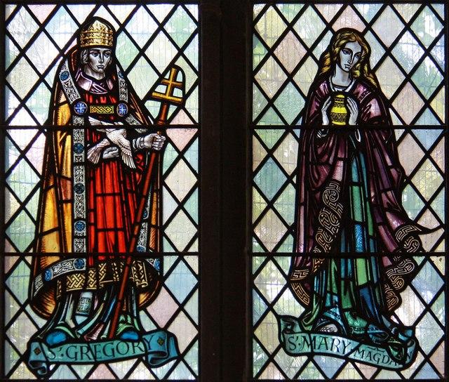 St Mark, Lakenham - Stained glass window