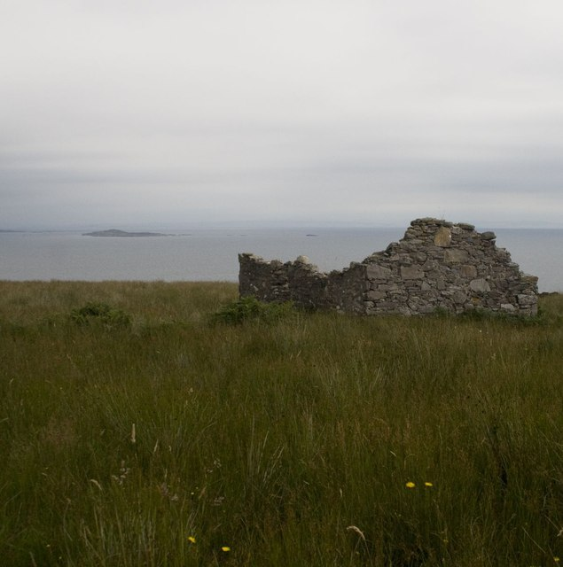 Ruin near Inveraval, Islay