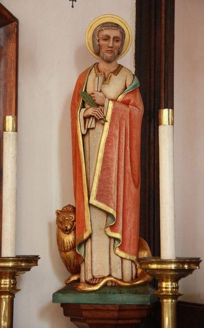St Mark, Lakenham - Statue of St Mark