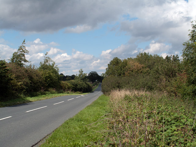 B6275 north of Lucy Cross