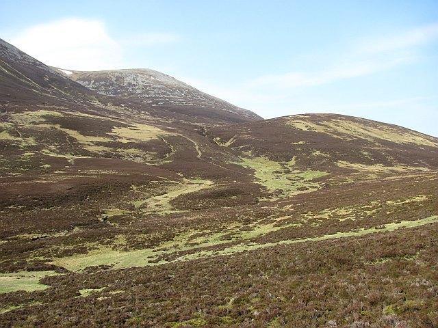 Site of shielings, Head of Glen Girnaig