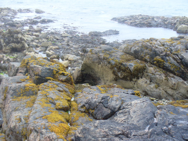 Coastline at Geodha Garbh