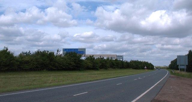 A168 near Marton le Moor