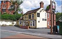 SO8483 : The Royal Exchange (1), High Street, Kinver by P L Chadwick