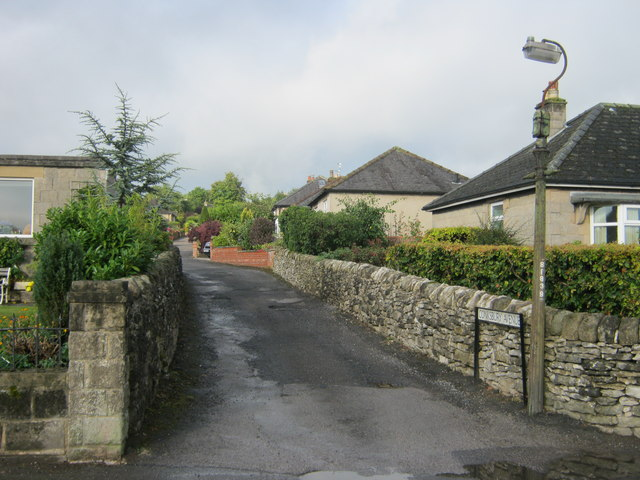 Entrance to Conksbury Avenue off Conksbury Lane in Youlgrave