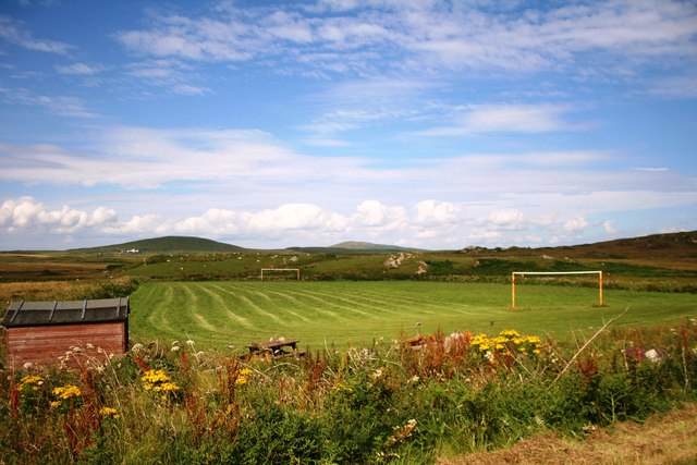 Football Pitch by Portnahaven