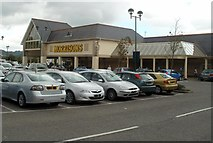 ST1587 : Morrisons Caerphilly by Jaggery