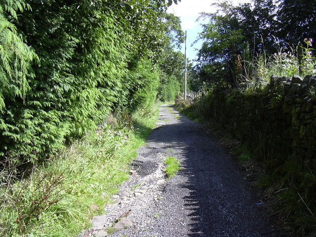 Lane to Shuttleworth
