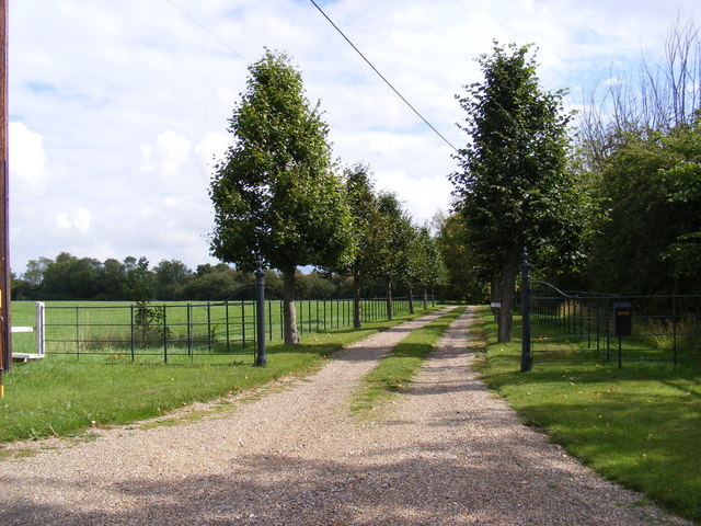 The Entrance to Bedfield House