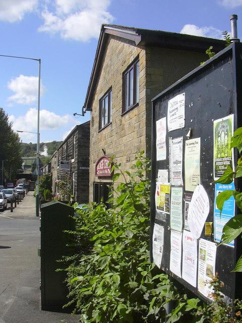 Notice Board, Bolton Road North, Stubbins