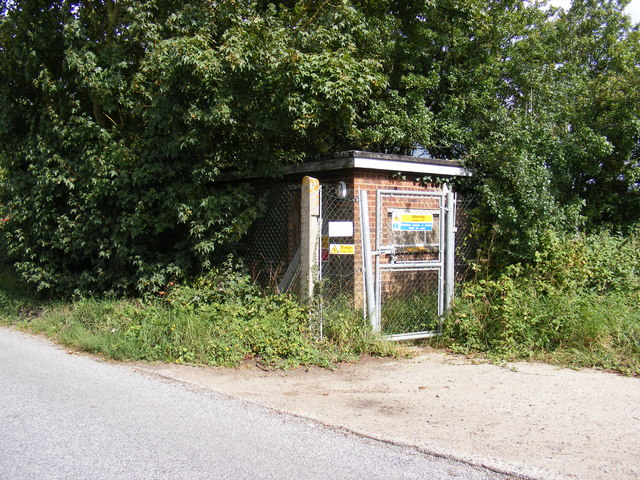 Bedfield Electricity Sub Station