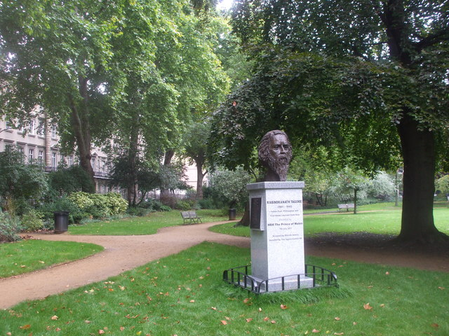 The gardens, Gordon Square, London
