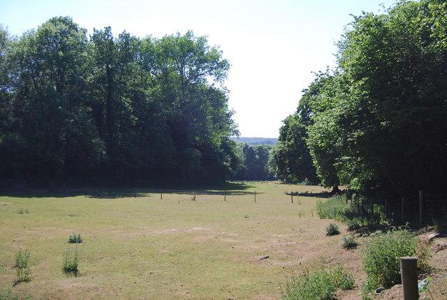 Farmland near Long Bottom Wood