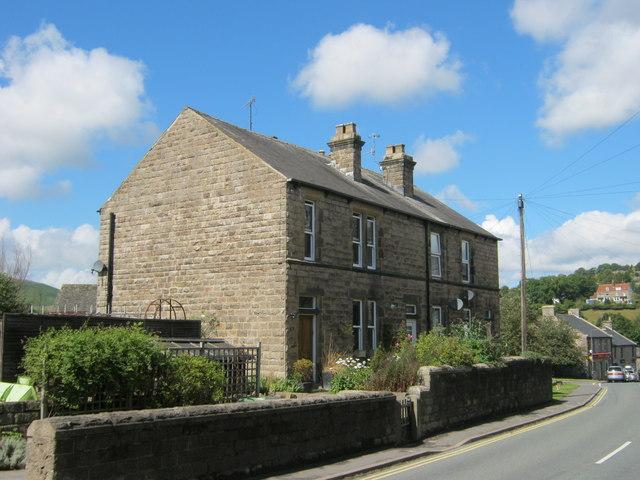 Mount Cottages in Station Road Hathersage