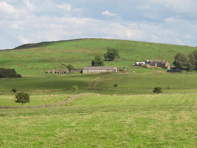 Farmland around Fell End