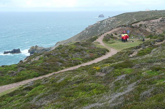 Coastal path at White Rocks