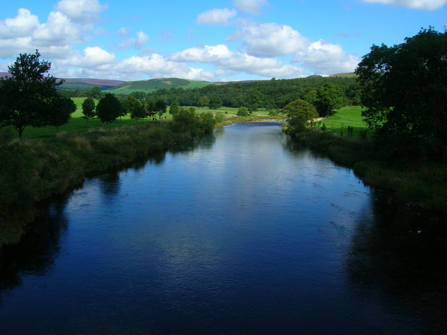 River Wharfe, north of Bolton Bridge