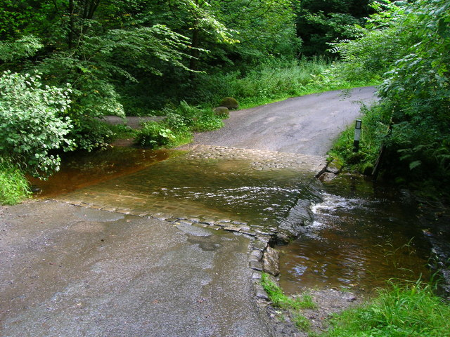 Ford: Pickles Beck crosses the road