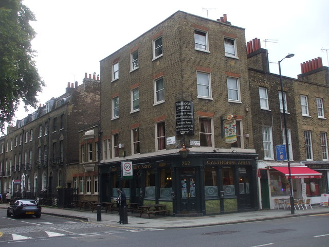 The Calthorpe Arms, corner of Grays Inn Rd and Wren St, London