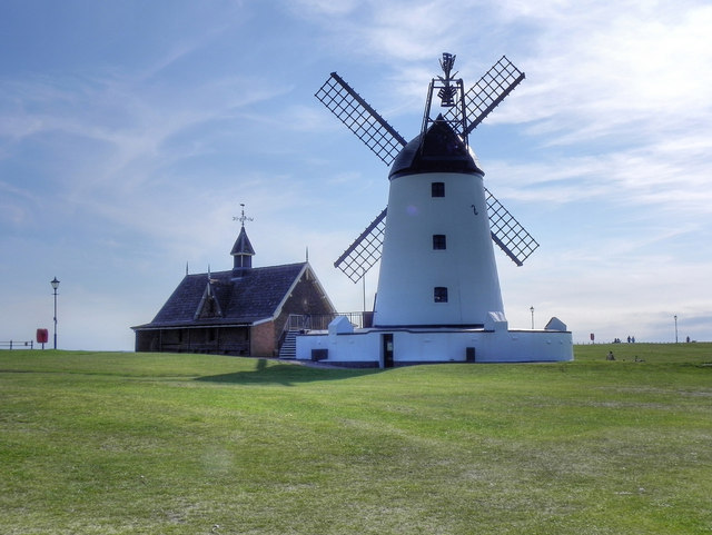 Lytham Windmill and Old Lifeboat House