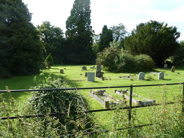 Grave yard west of Singleton School