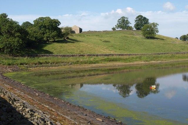 Across John O' Gaunt Reservoir