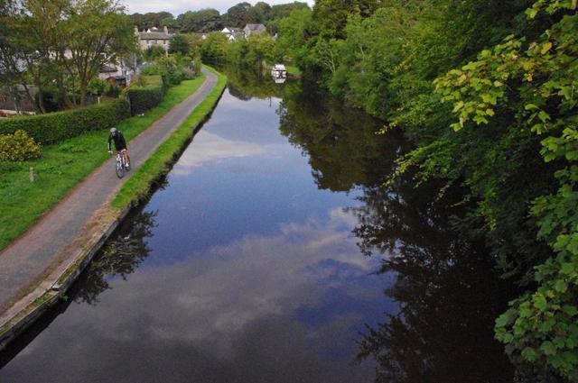 Lancaster Canal, Bolton-le-Sands