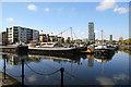 TQ3880 : Poplar Dock by Chris Allen