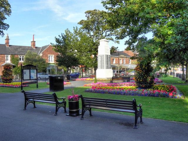 Memorial Garden and War Memorial