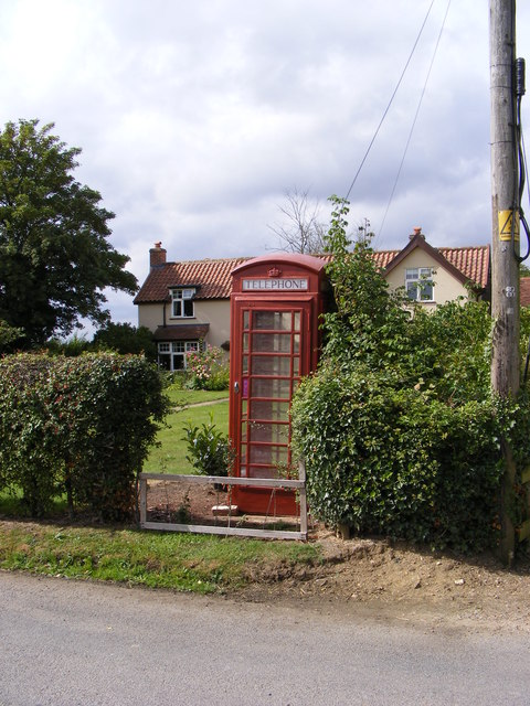 Monk Soham Telephone Box